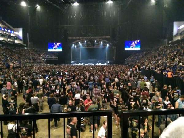 The O2 Arena, section: Block 108, row: J, seat: 229