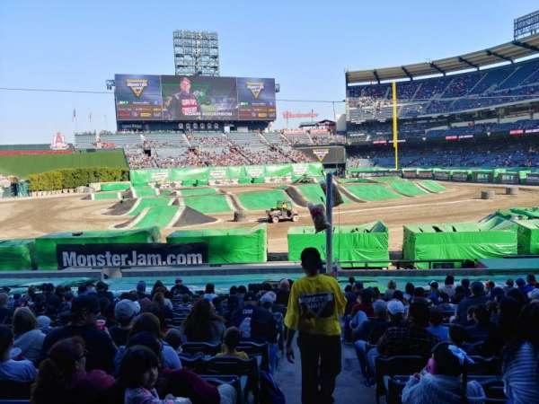 Angel Stadium, section: 209, row: A, seat: 21