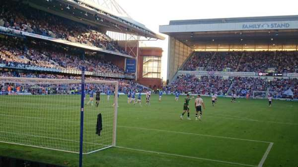 Ibrox Stadium, section: Copland Front, row: H, seat: 0059