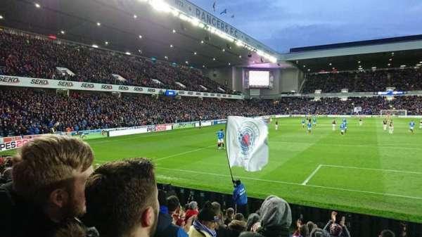Ibrox Stadium, section: Broomloan Front, row: J, seat: 0094