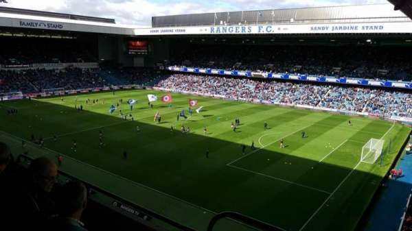 Ibrox Stadium, section: CD1, row: D, seat: 0022