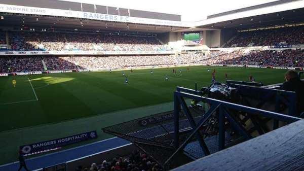 ibrox stadium, section: Bill Struth Main Front, row: a, seat: 243