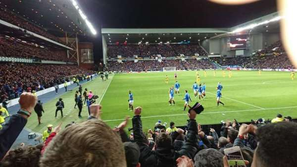 Ibrox Stadium, section: Copland Front, row: J, seat: 151