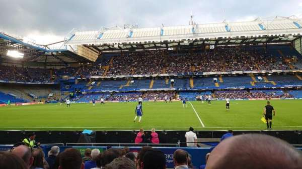 Stamford Bridge, section: West Stand Lower, row: 10, seat: 111