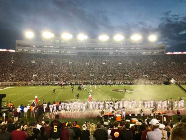 Bobby Bowden Field at Doak Campbell Stadium, section: 11, row: 19, seat: 26