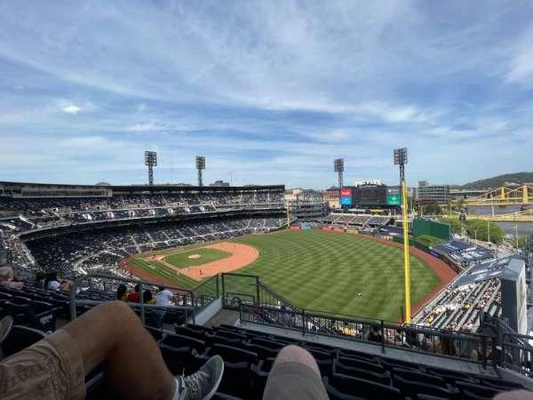 PNC Park, section: 301, row: X, seat: 8