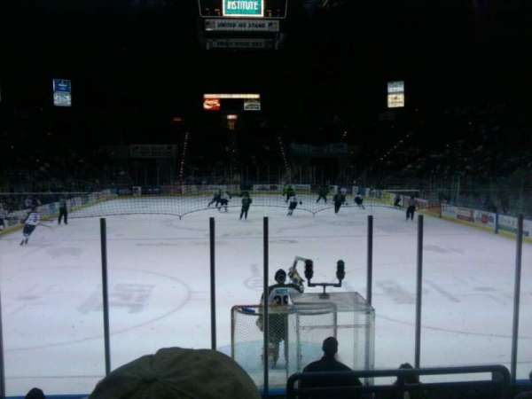 Pensacola Bay Center, section: 109, row: G, seat: 4