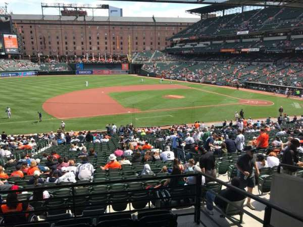 Oriole Park at Camden Yards, section: 55, row: 5, seat: 2