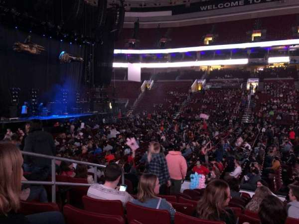 Wells Fargo Center, section: 101, row: 12, seat: 4