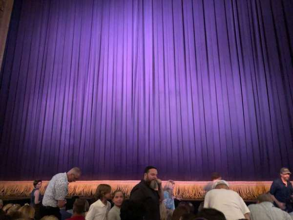 Lyceum Theatre (Broadway), section: Center Orchestra, row: G, seat: 103