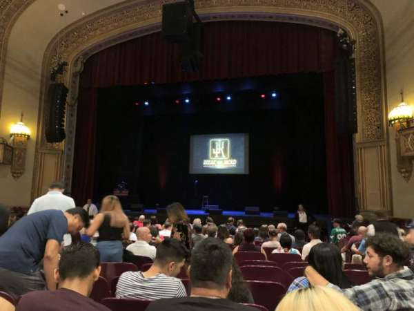 Santander Performing Arts Center, section: OrchC, row: M, seat: 102