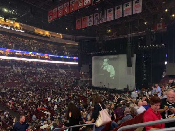 Wells Fargo Center, section: 111, row: 20, seat: 12