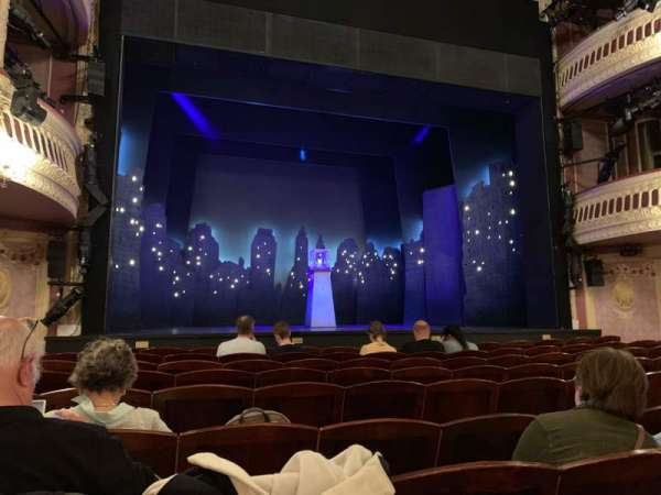 Criterion Theatre, section: Stalls, row: J, seat: 17