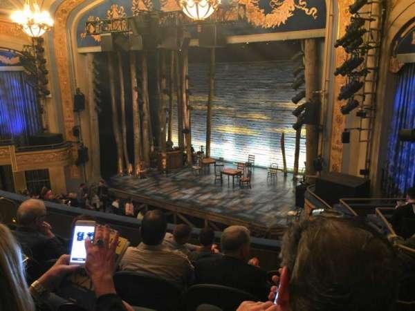 Gerald Schoenfeld Theatre, section: Mezzanine R, row: F, seat: 22