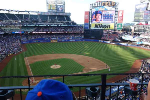 Citi Field, section: 411, row: 2, seat: 11