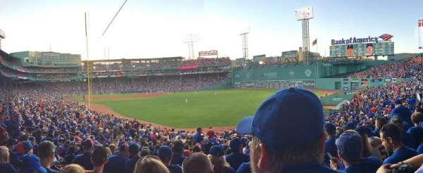 Fenway Park, section: Right Field Box 90, row: WW, seat: 10