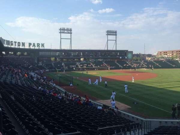 Huntington Park, section: 1, row: T, seat: 17