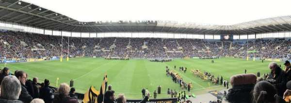 Ricoh Arena, section: West Stand Block B, row: W, seat: 9