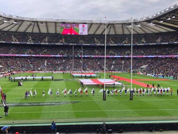 Twickenham Stadium, section: L16, row: 29, seat: 160