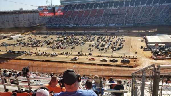 Bristol Motor Speedway, section: Pearson Terrace L, row: 5, seat: 1