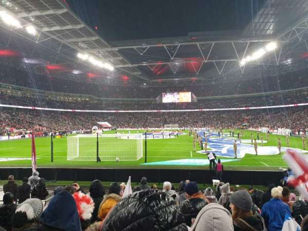 Wembley Stadium, section: 133, row: 12, seat: 300
