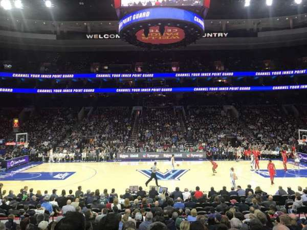 Wells Fargo Center, section: 113, row: 13, seat: 6