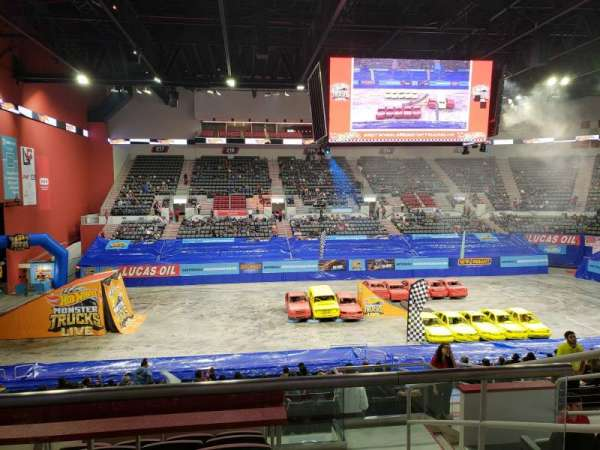 Bert Ogden Arena, section: 201, row: F, seat: 6