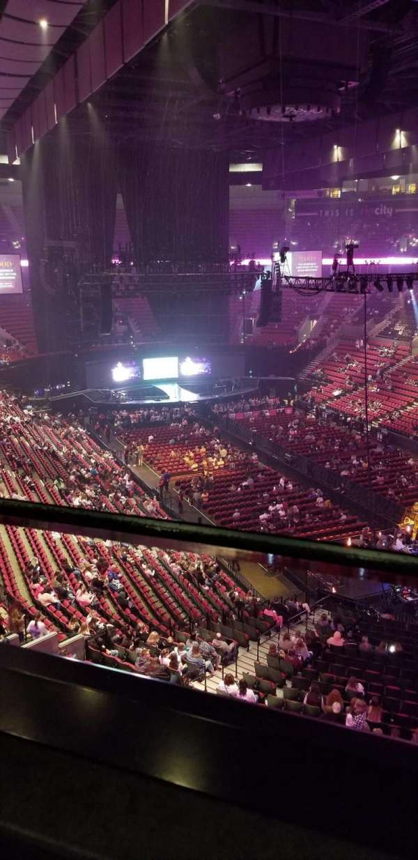 Moda Center, section: 330, row: A, seat: 1