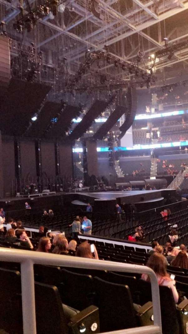 Amalie Arena, section: 116, row: M, seat: 19