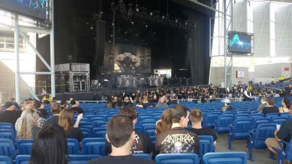 Budweiser Stage, section: 203, row: U, seat: 29