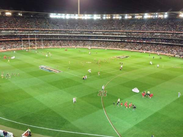 Melbourne Cricket Ground, section: Q13, row: 2, seat: 4
