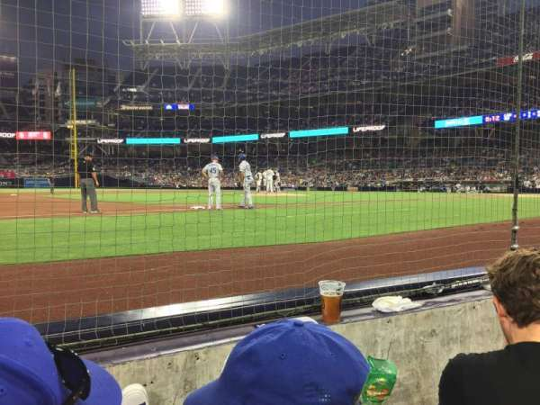 PETCO Park, section: 8, row: 2, seat: 9