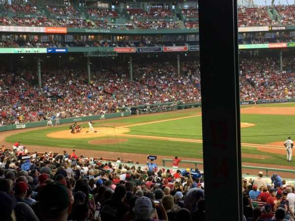 Fenway Park, section: Grandstand 13, row: 6, seat: 16
