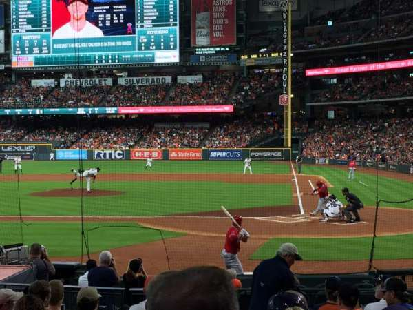 Minute Maid Park, section: 116, row: 15, seat: 11
