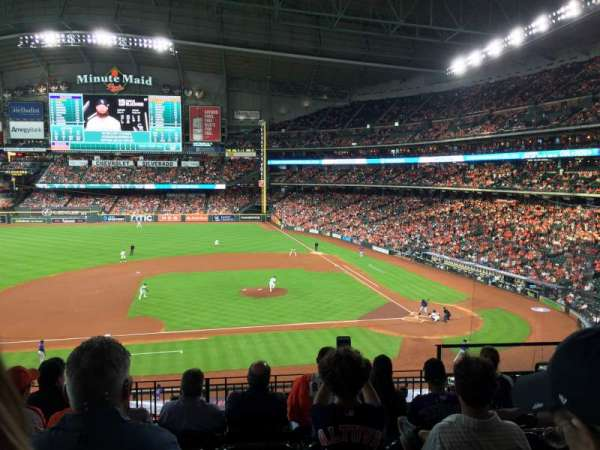 Minute Maid Park, section: 213, row: 7, seat: 12