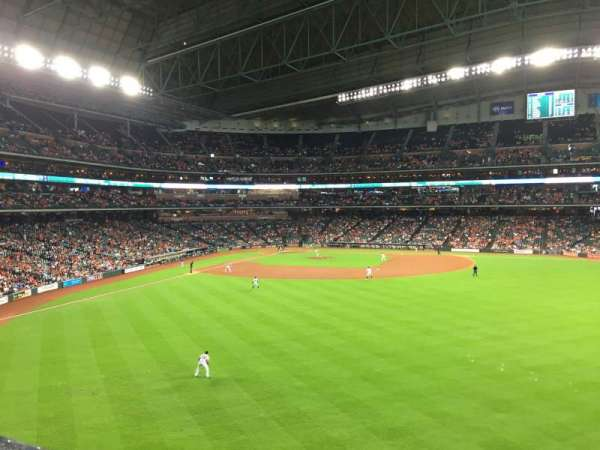 Minute Maid Park, section: 254, row: 1, seat: 14