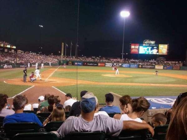 Louisville Slugger Field, section: 112, row: J, seat: 5