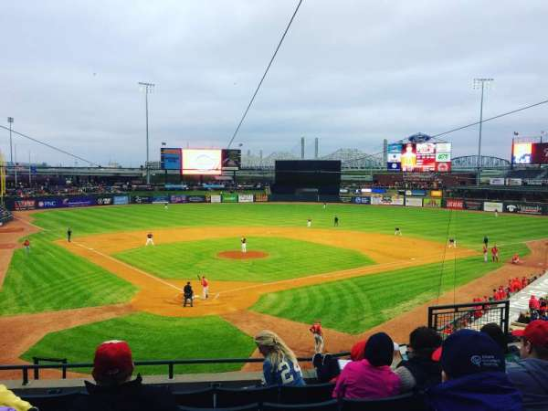 Louisville Slugger Field, section: 214, row: E, seat: 7
