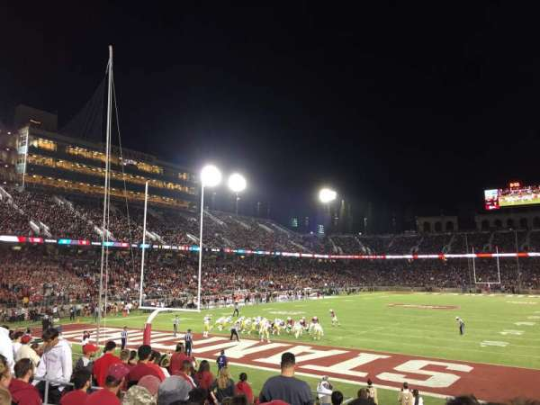 Stanford Stadium, section: 101, row: N, seat: 8