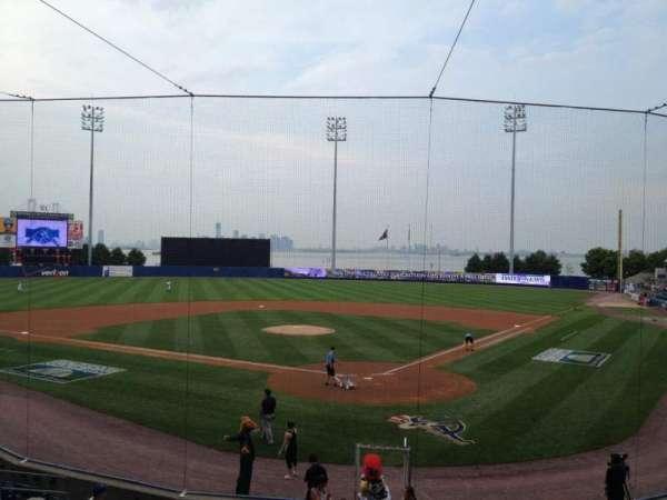 Richmond County Bank Ballpark, section: 9, row: R, seat: 25