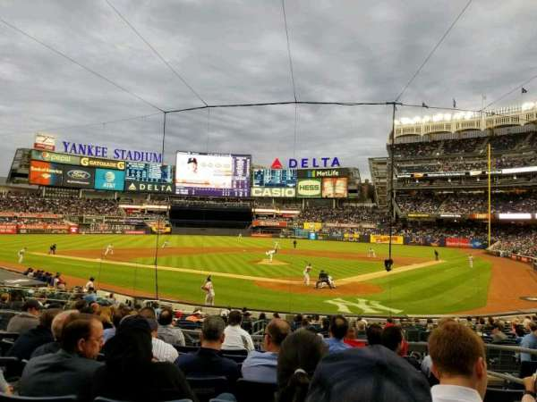 Yankee Stadium, section: 121a, row: 8, seat: 4