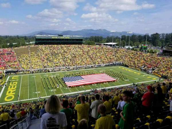 Autzen Stadium, section: 34PR, row: 77, seat: 23