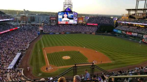 Coors Field, section: 327, row: 14, seat: 3
