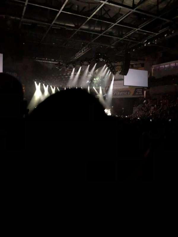 Huntington Center, section: 106, row: B, seat: 2