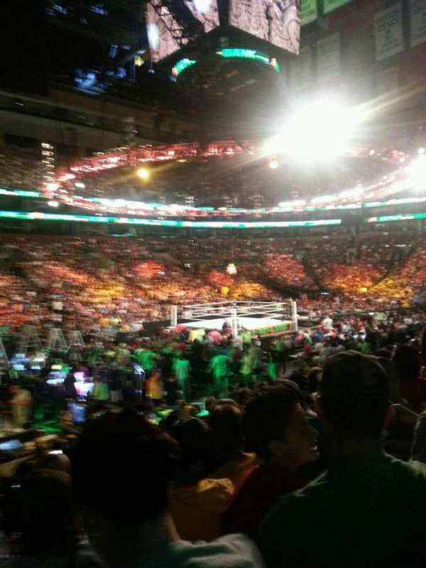 TD Garden, section: Loge 14, row: 13, seat: 15