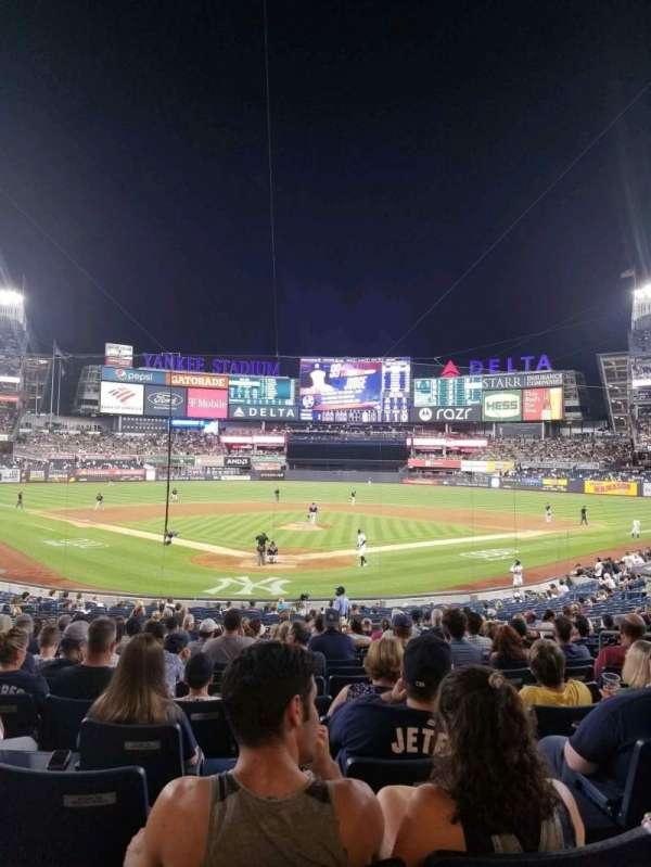 Yankee Stadium, section: 120A, row: 15, seat: 5