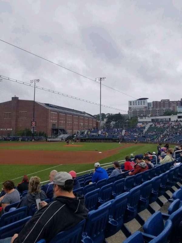 Hadlock Field, section: 114, row: J, seat: 18