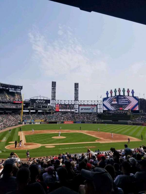 Guaranteed Rate Field, section: 128, row: 35, seat: 13