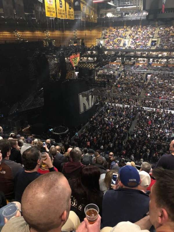 TD Garden, section: Bal 316, row: 9, seat: 5