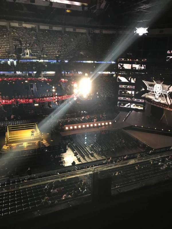 Smoothie King Center, section: 301, row: 2, seat: 7